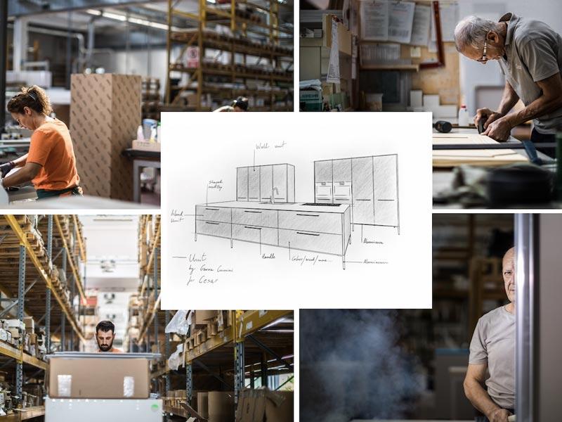تولید کننده کابینت آشپزخانه