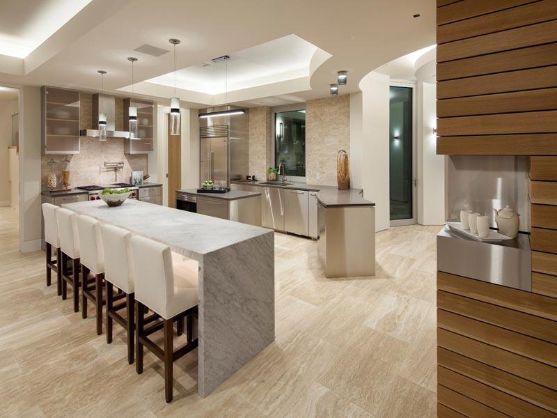 کابینت آشپزخانه سبک پست مدرن