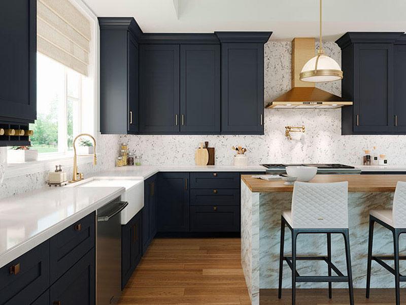 درب حاشیه دار برای کابینت آشپزخانه