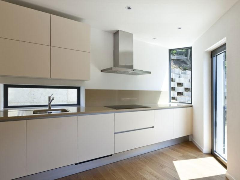 کابینت آشپزخانه ساده و مات