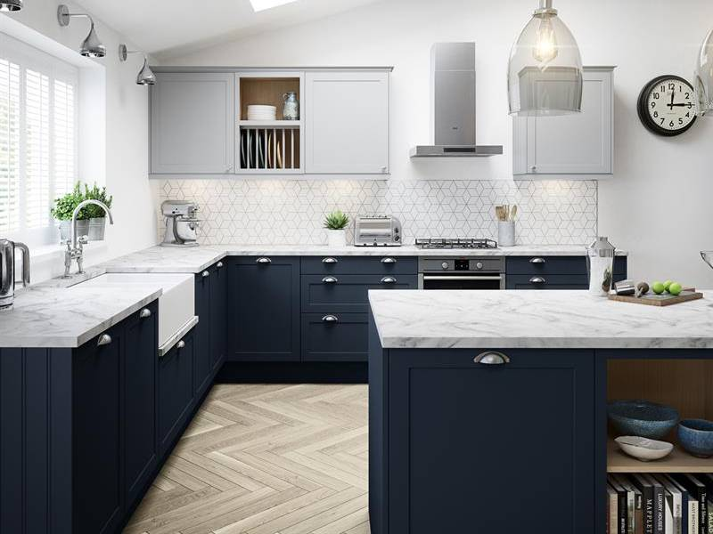 کابینت های مدرن برای آشپزخانه کوچک