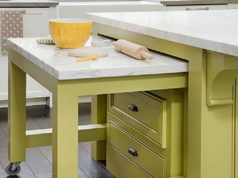 کابینت های مخفی در آشپزخانه